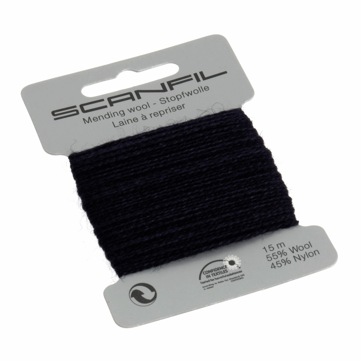 Picture of Mending Wool 15m: Navy