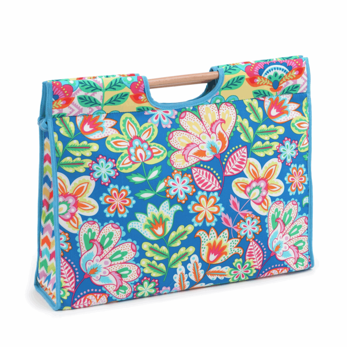 Picture of S&W Collection: Craft Bag with Wooden Handles: Margarita