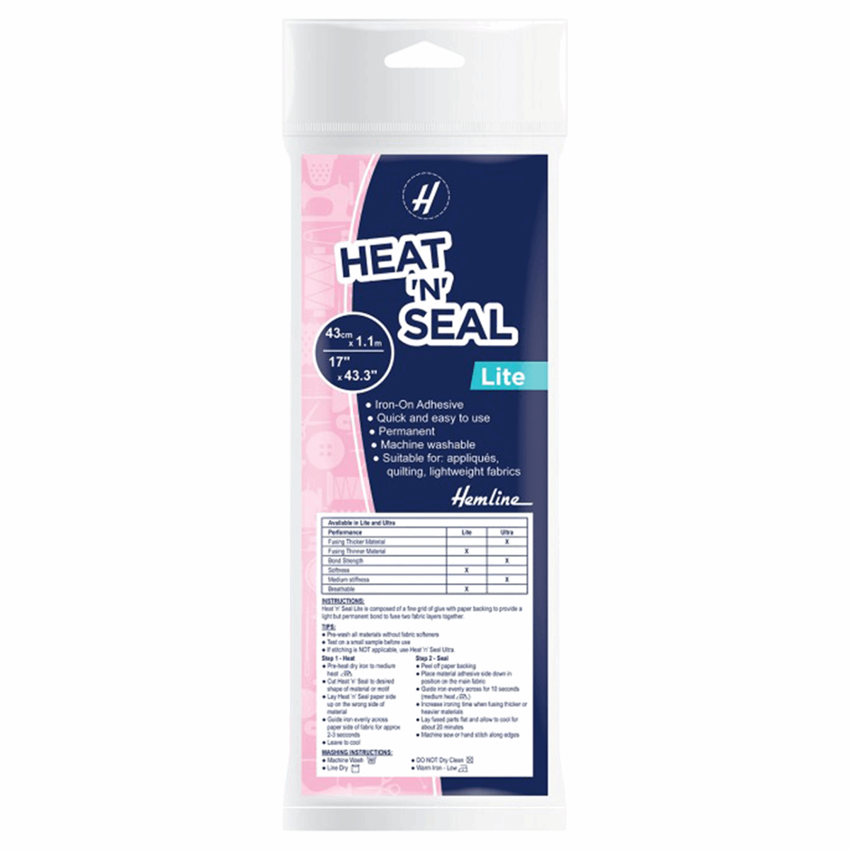 Picture of Heat 'n' Seal Lite: 1.1m x 43cm