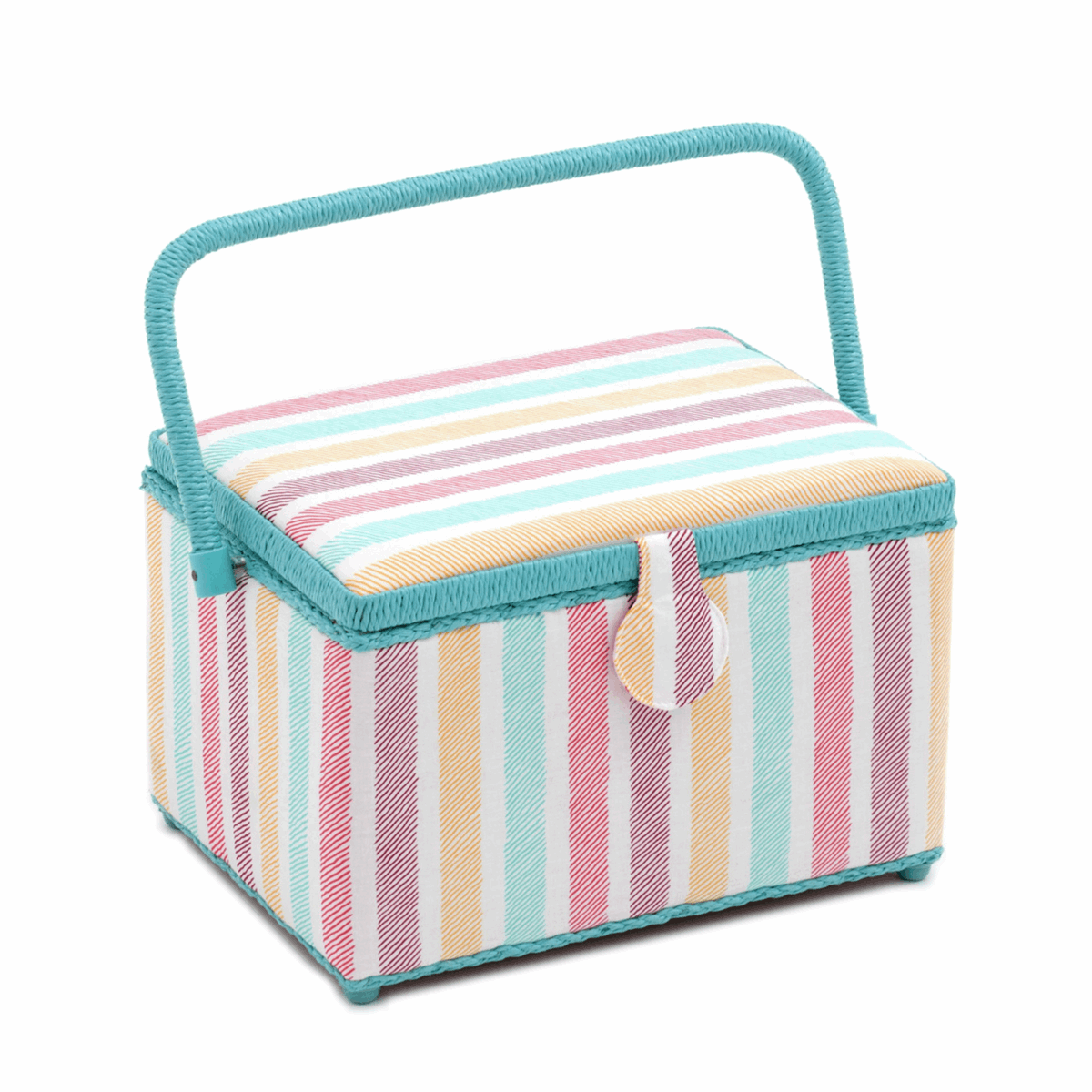 Picture of S&W Collection: Sewing Box (M): Deep: Sketch Stripe