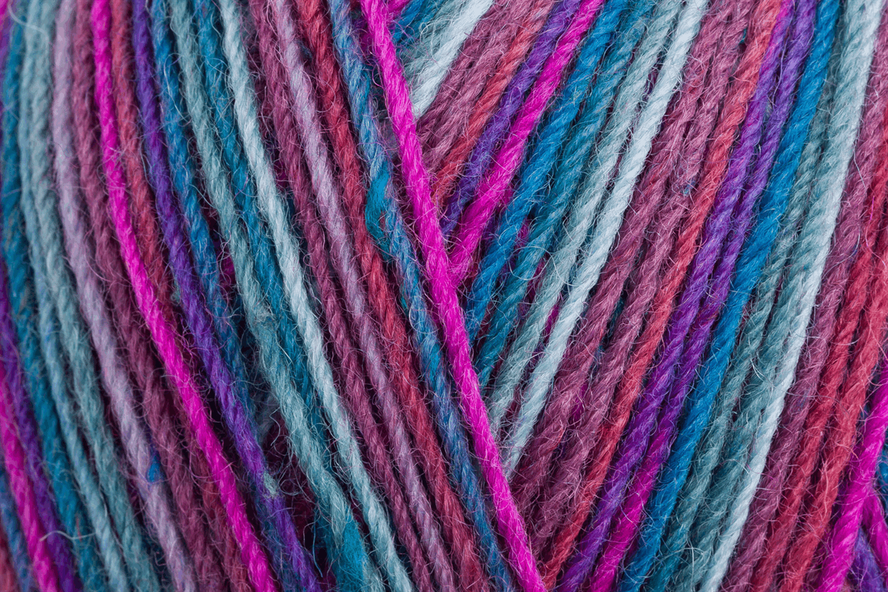 Picture of Tweed Color: 4 Ply: 5 x 100g: Winterzauber