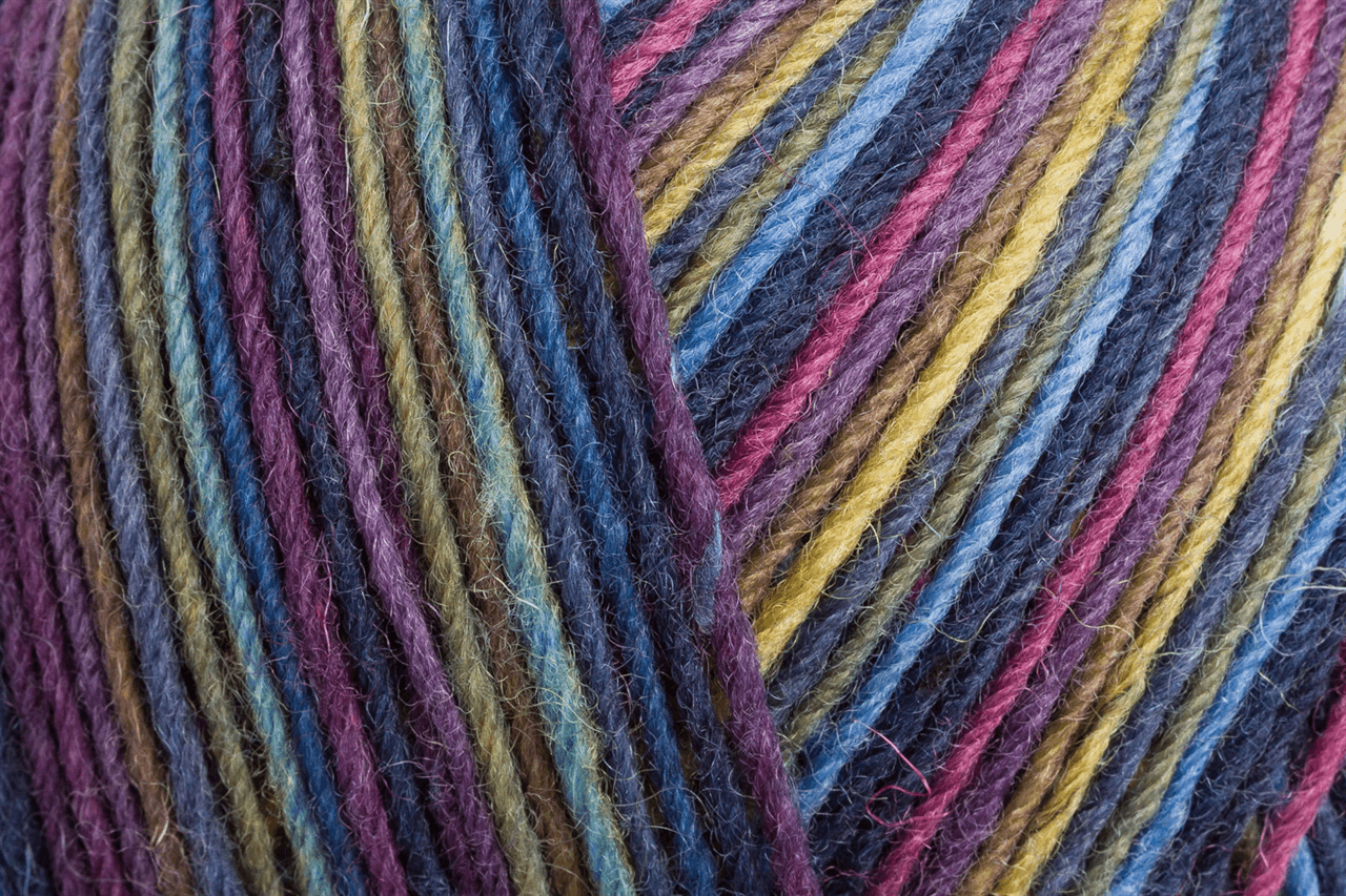 Picture of Tweed Color: 4 Ply: 5 x 100g: Twilight