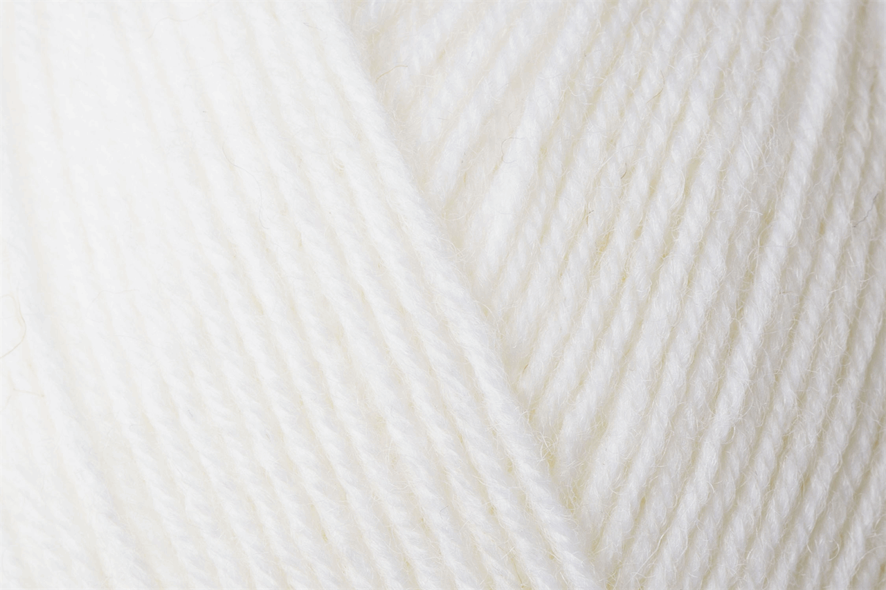 Picture of Uni: 4 Ply: 10 x 100g: Superweiß