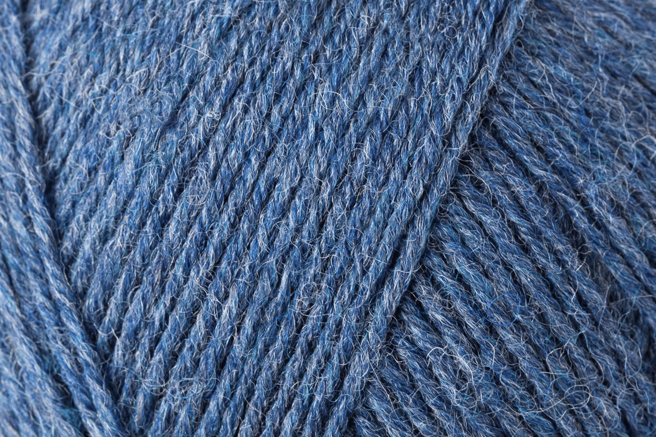 Picture of Uni: 4 Ply: 10 x 100g: Jeans Meliert