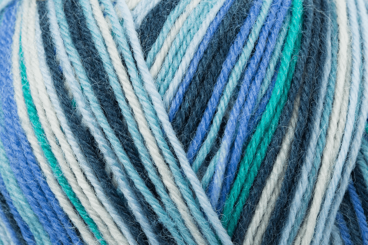 Picture of Color: Funstripe: 4 Ply: 10 x 100g: Air