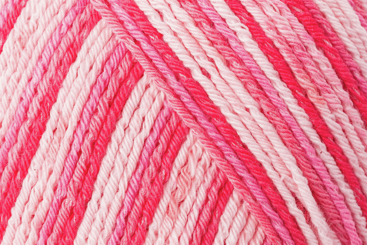 Picture of Cotton Color: Tuttifruitti: 5 x 100g: Erdbeer