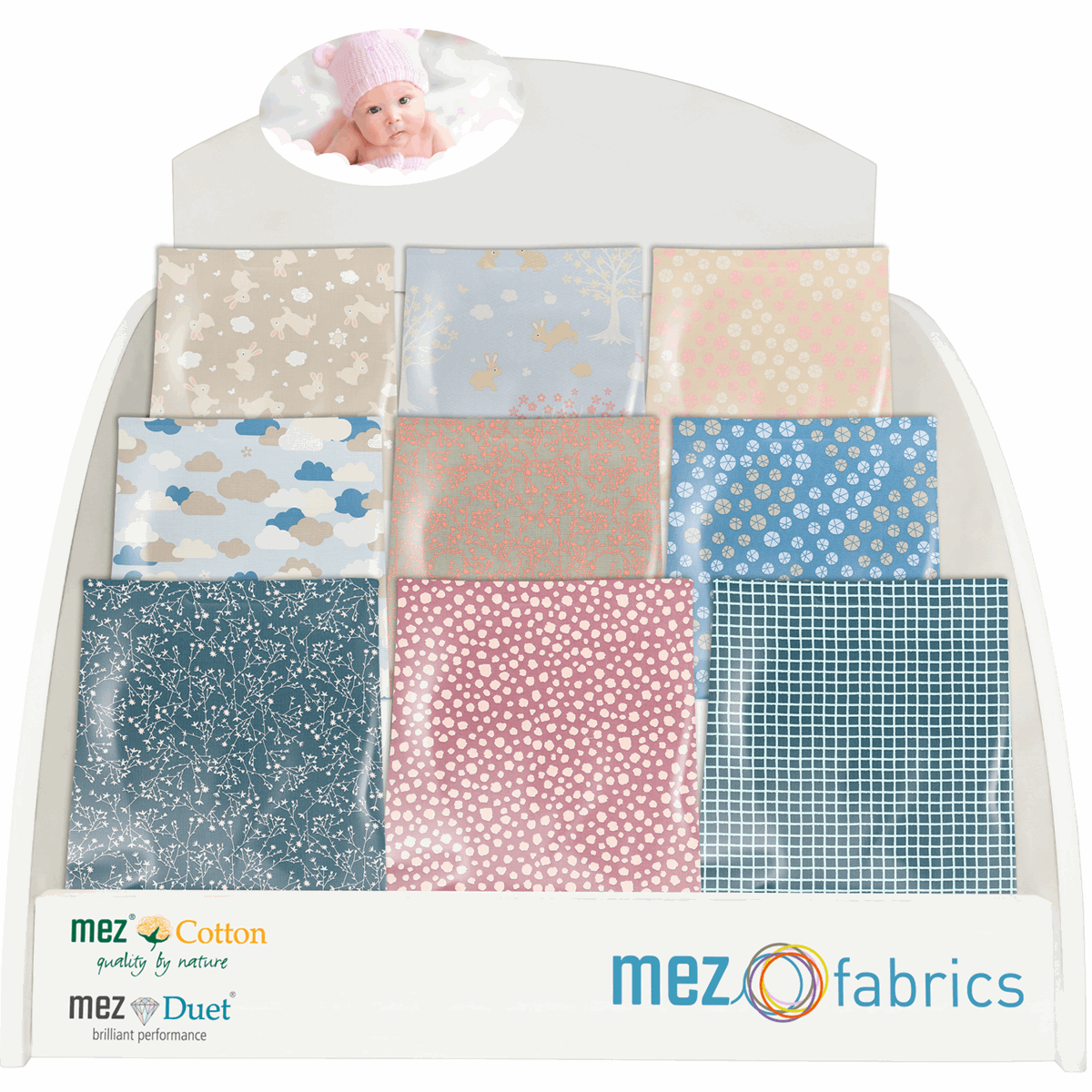Picture of Counter Display: Mez Pre-Cut Fabrics