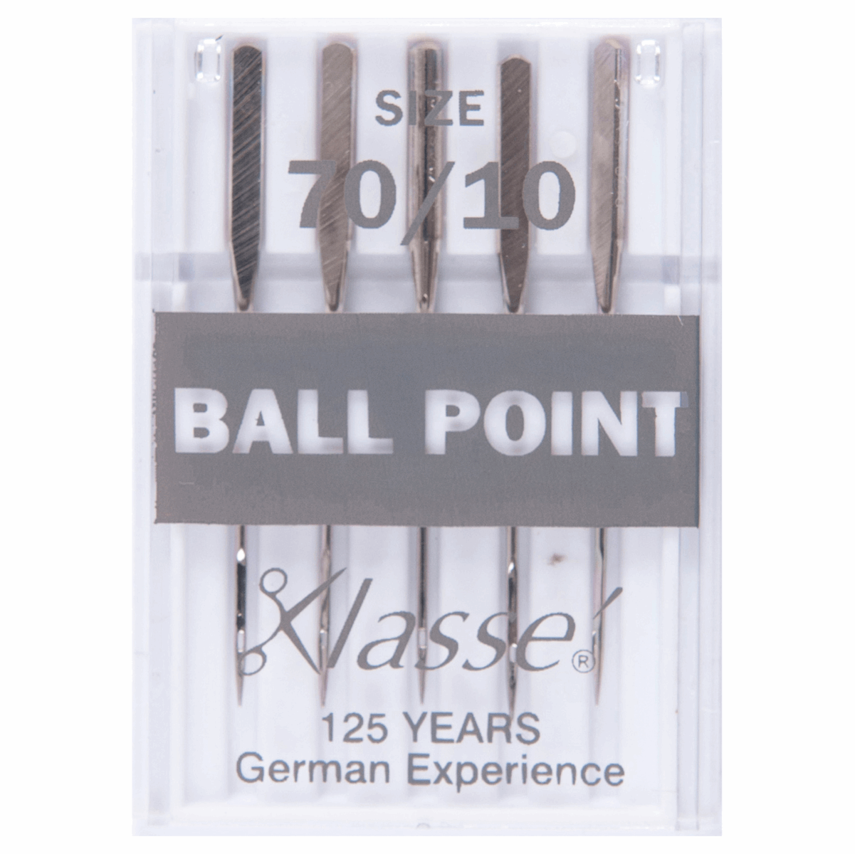 Picture of Sewing Machine Needles: Ball Point: 70/10: 5 Pieces