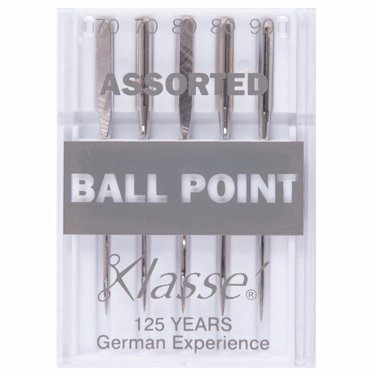 Picture of Sewing Machine Needles: Ball Point: Assorted: 5 Pieces