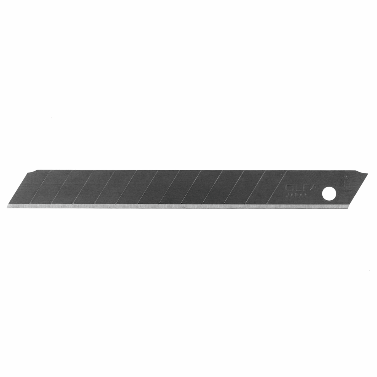 Picture of Utility Blade: 9mm Silver Snap-Off Blades: Pack of 10