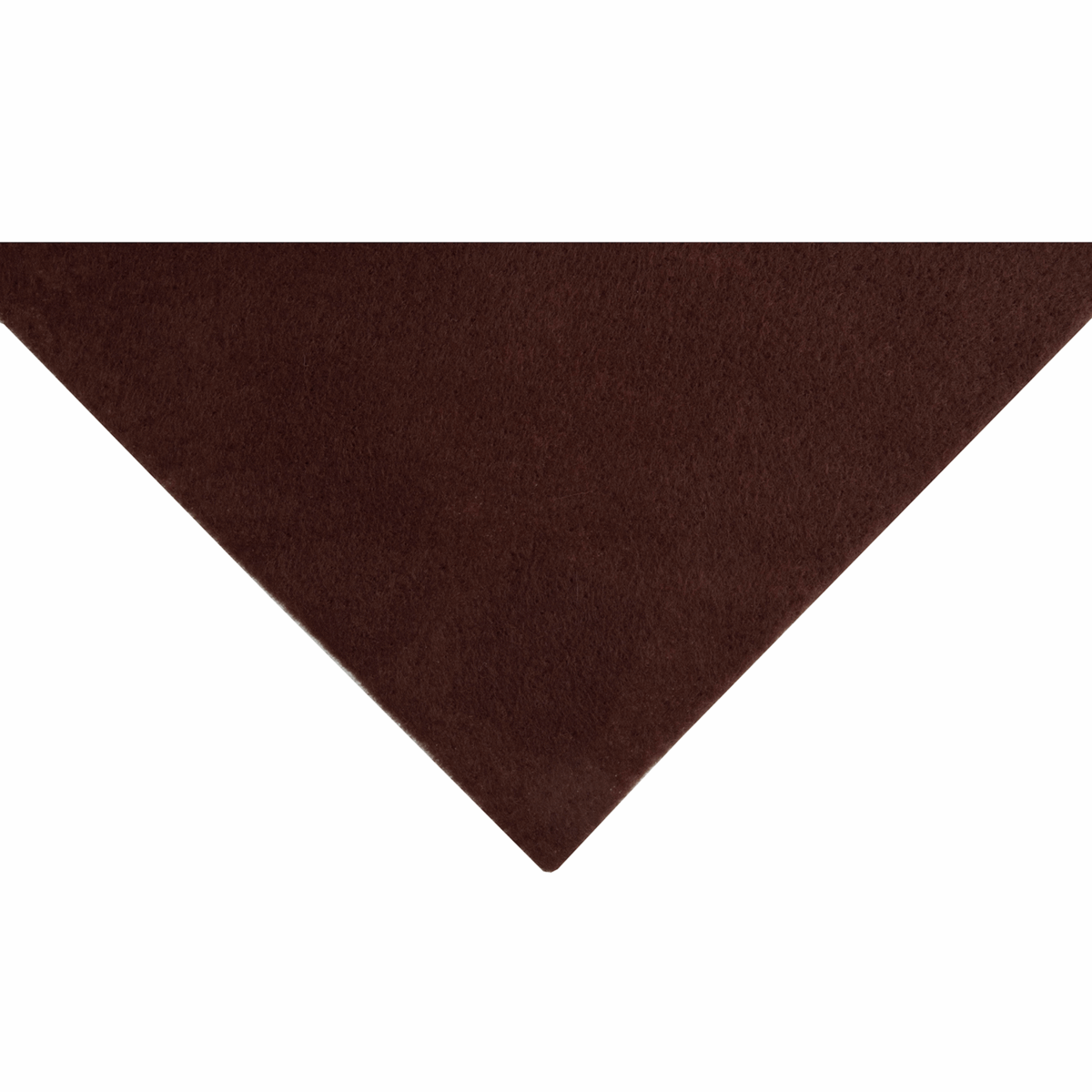 Picture of Felt: Acrylic: : 23 x 30cm: Sticky Back: Brown: 10 Pieces