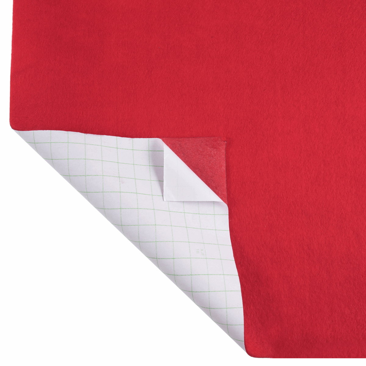 Picture of Felt with Adhesive Backing: 5m x 90cm: Red