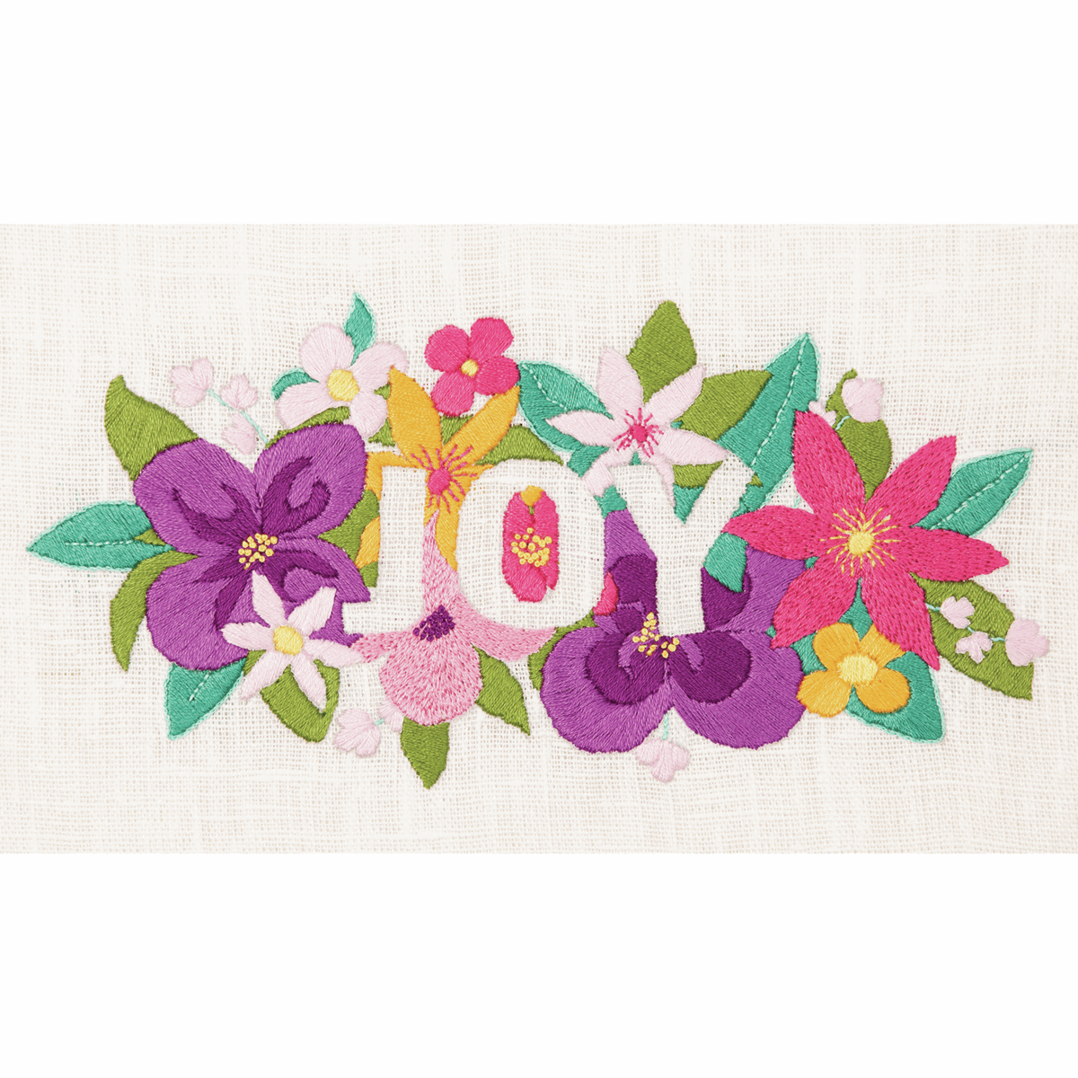 """Picture of Embroidery Kit: """"Joy"""""""