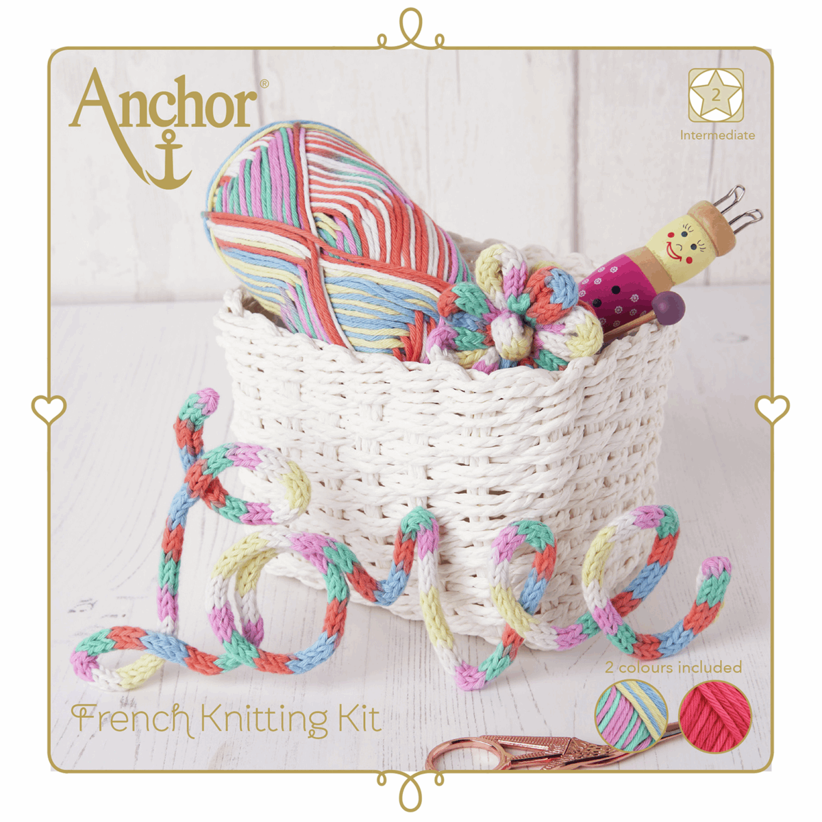 Picture of French Knitting Kit: Bright
