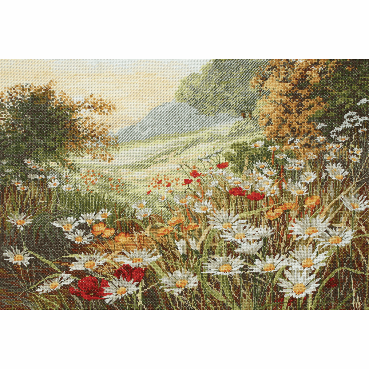Picture of Counted Cross Stitch Kit: Maia: Evening Sun