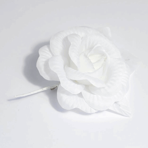 Picture of Corsage: Rose: Medium: White: Pack of 12