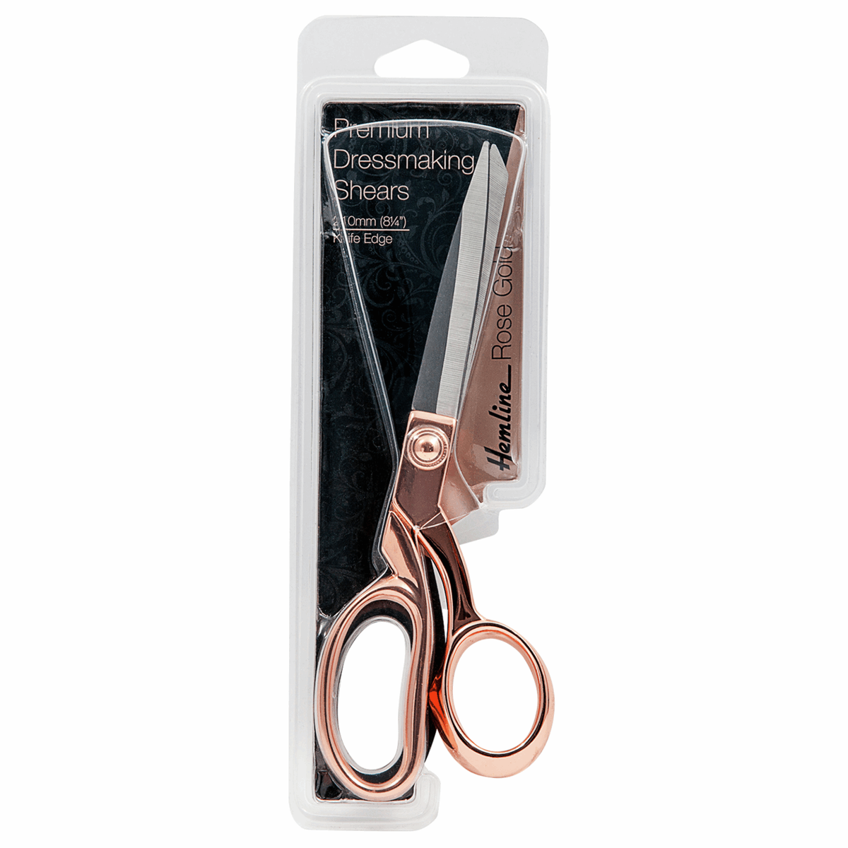 Picture of Scissors: Dressmaking: 21cm/8.25in: Rose Gold