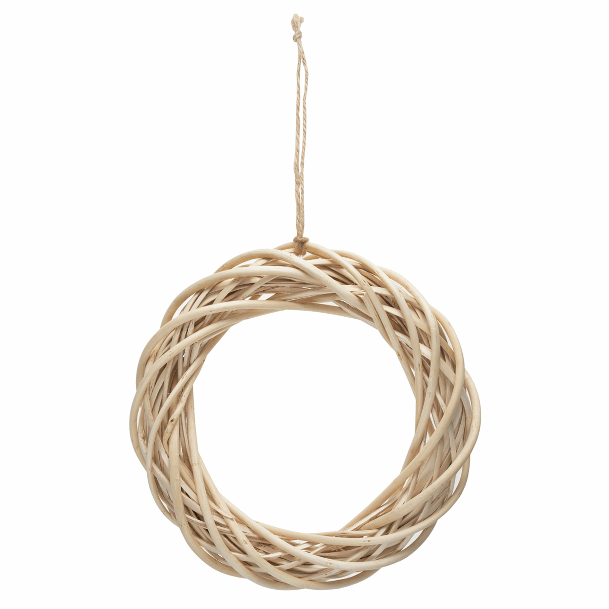 Picture of Wreath Base: Light Willow: 25.5cm/10in