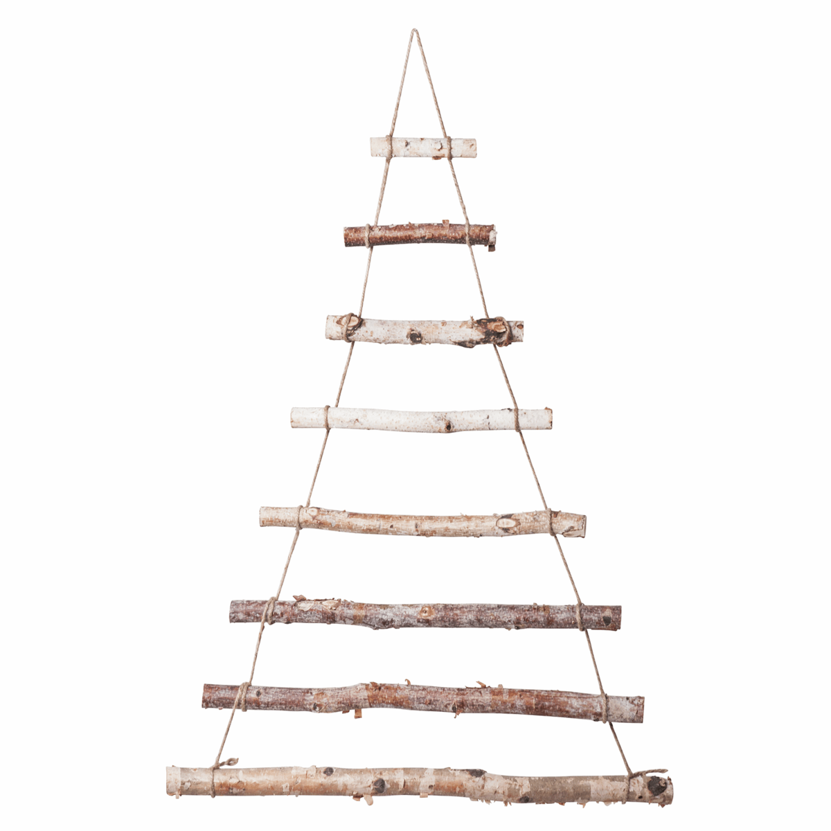 Picture of Wall Hanging Christmas Tree: Birch: 3 Pieces