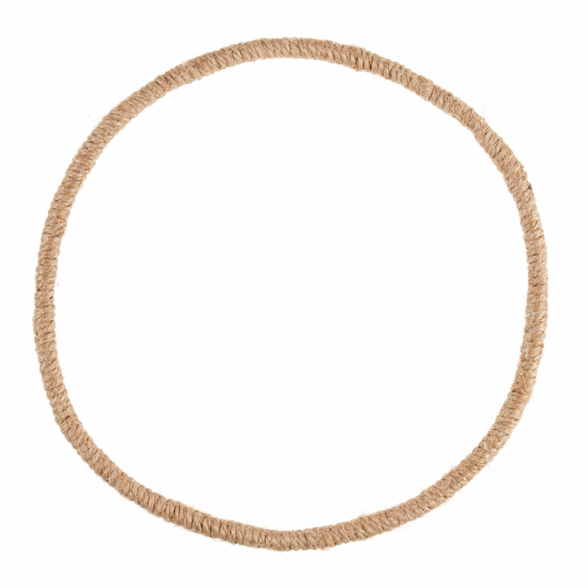 Picture of Wreath Base: Jute Wrapped Wire: 19cm/7.5in