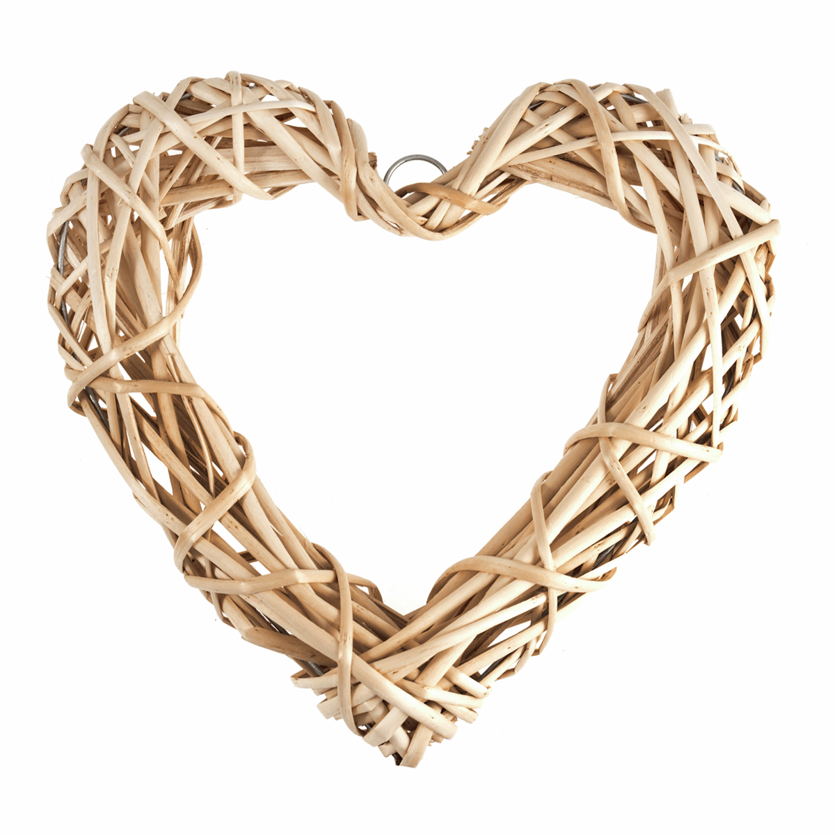 Picture of Wreath Base: Light Willow Heart: 30cm/11.8in