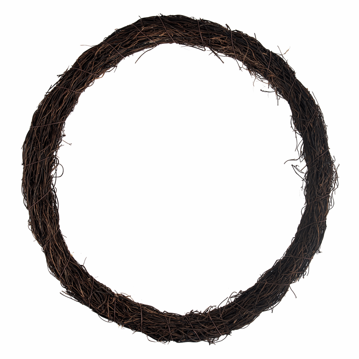 Picture of Wreath Base: Rattan: Dark: 40cm/15.7in