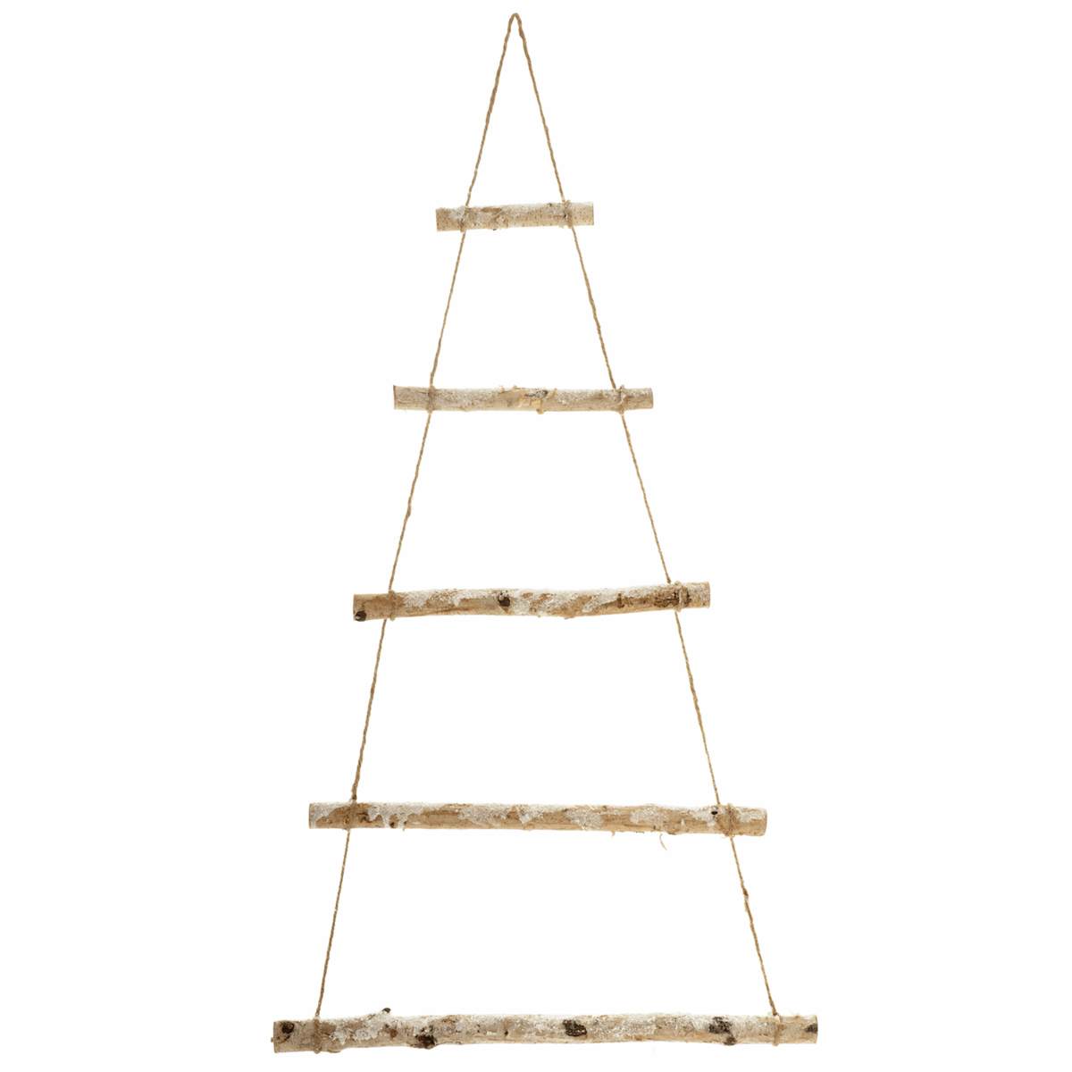 Picture of Wall Hanging Christmas Tree: Frosted Birch: 3 Pieces