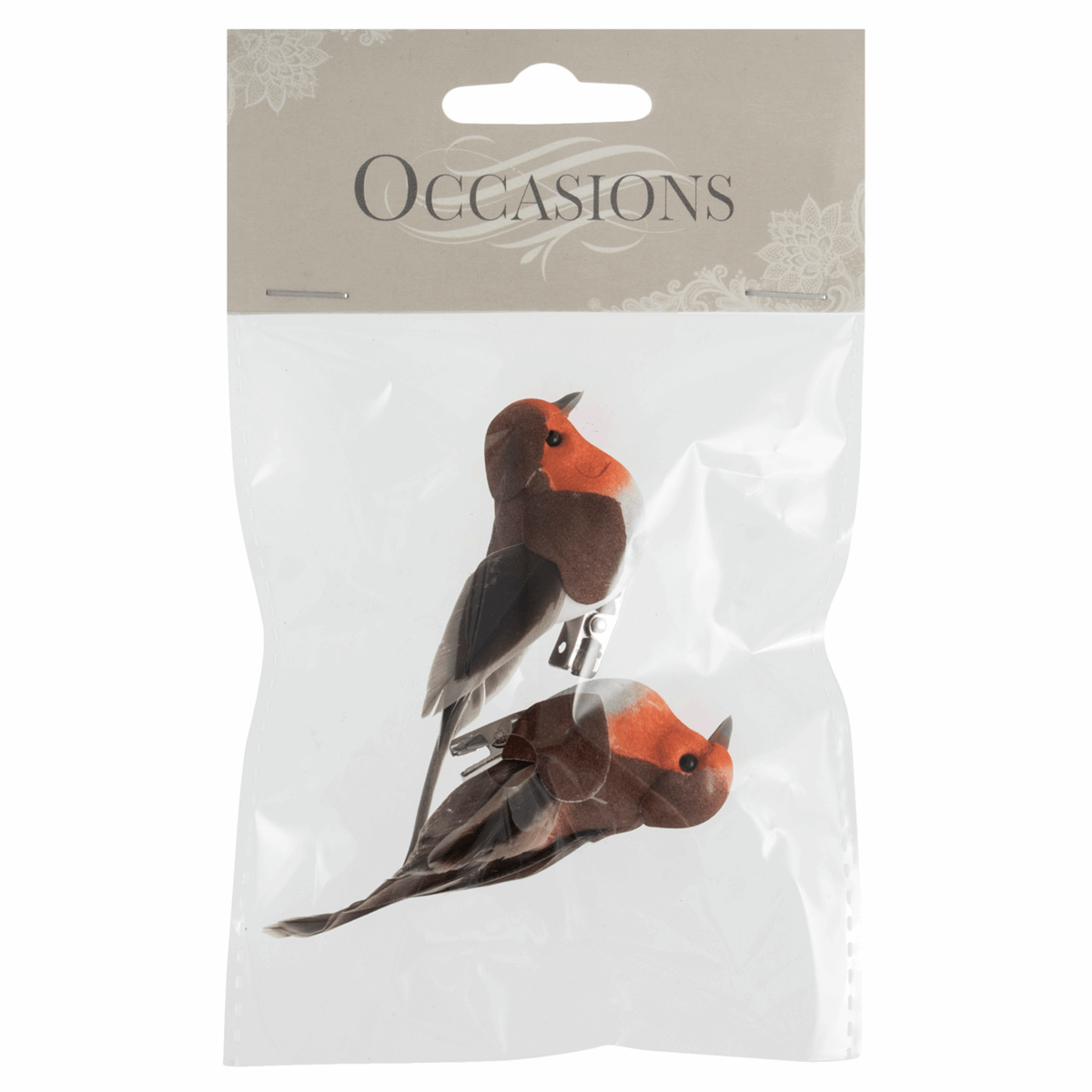 Picture of Robins on Clip: Small: 2 Pieces