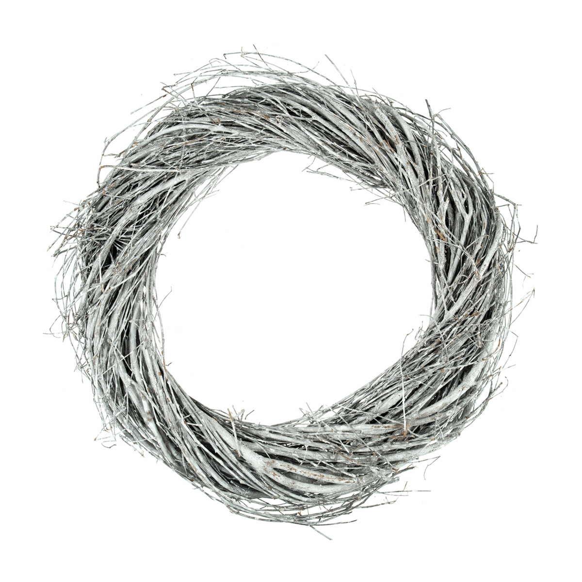Picture of Wreath Base: Willow: Grey: 30cm/11.8in