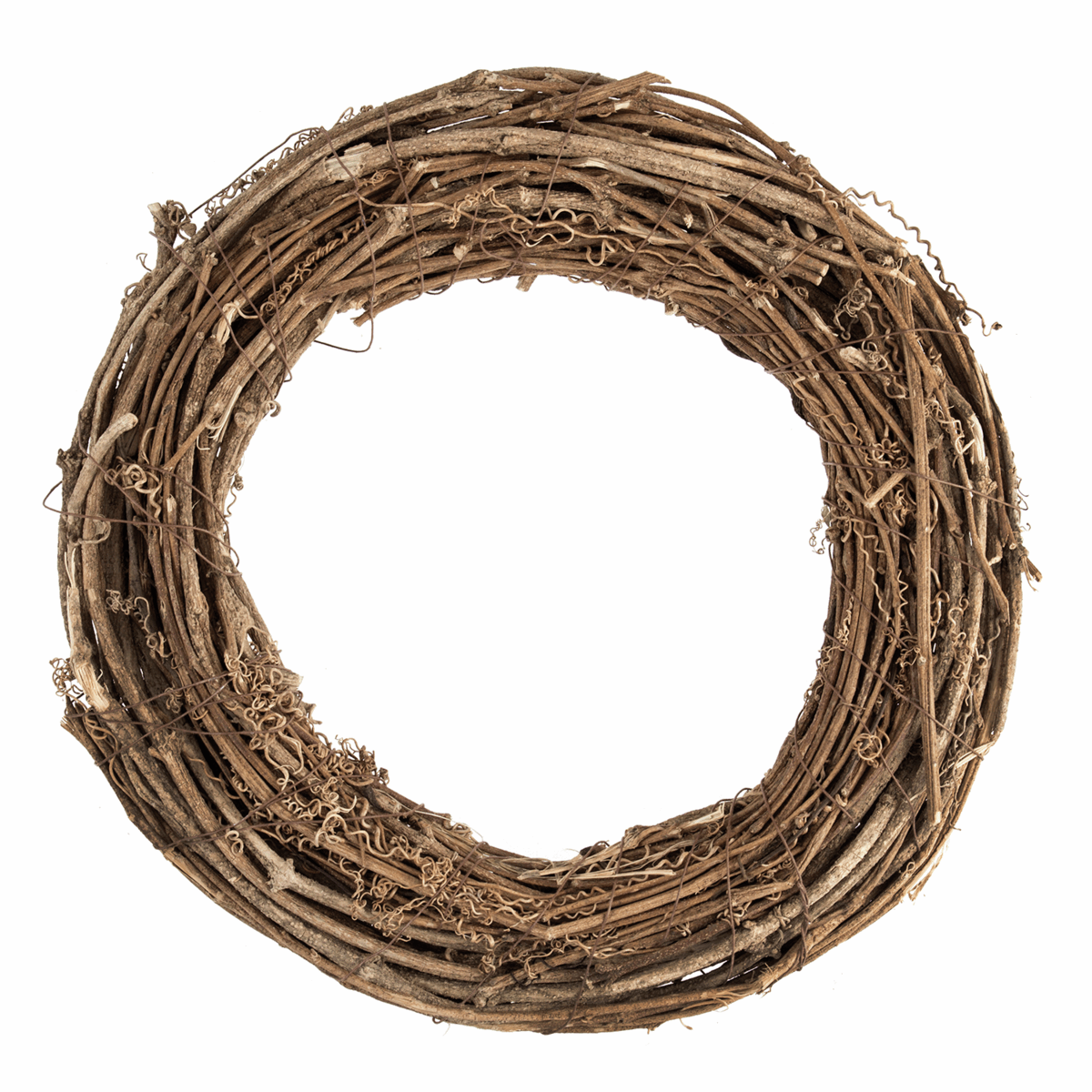 Picture of Wreath Base: Willow: Natural: 30cm/11.8in