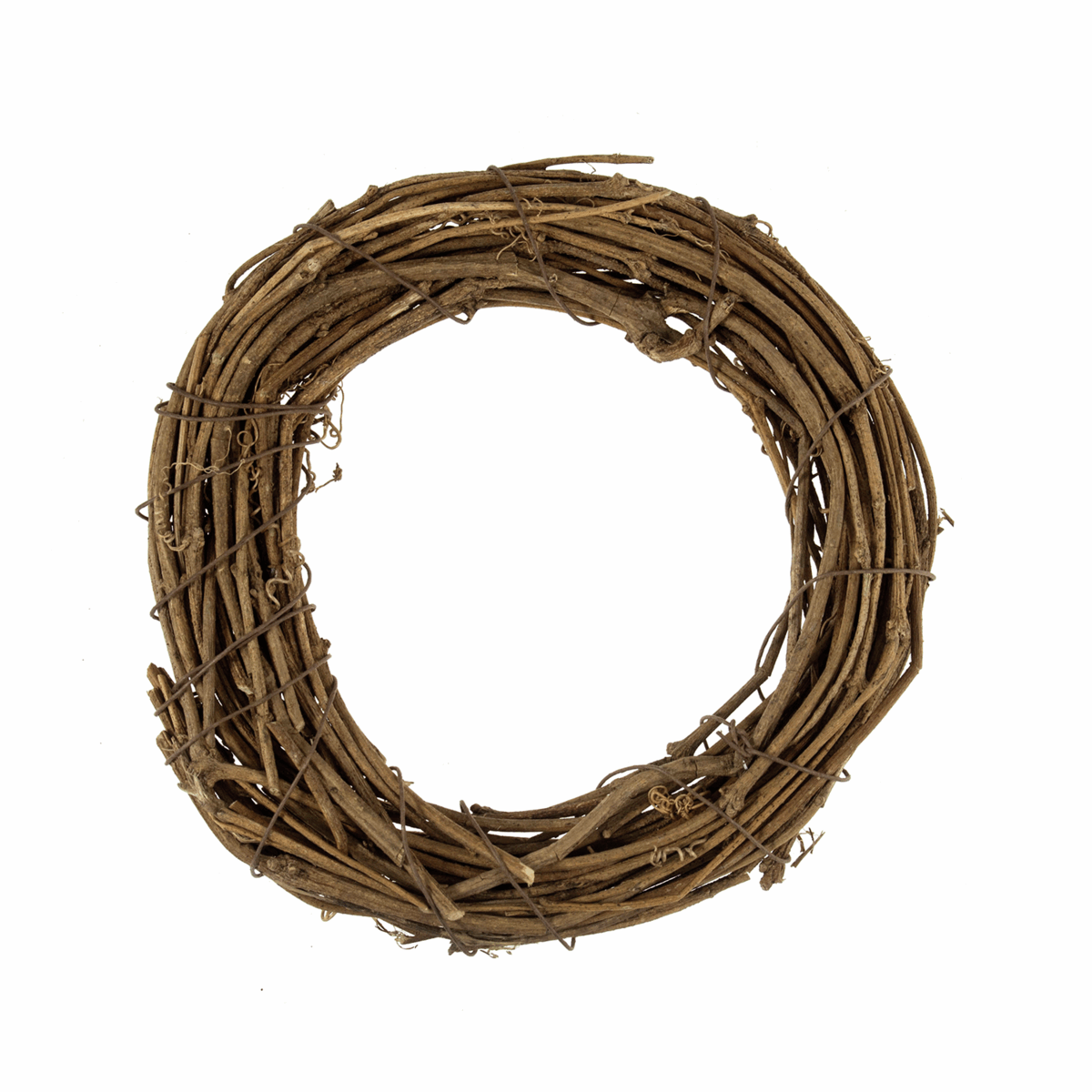 Picture of Wreath Base: Natural Willow: 20cm/7.9in: 3 Pieces