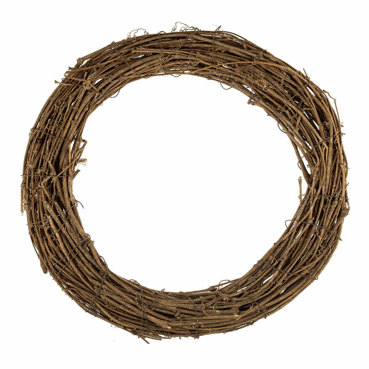 Picture of Wreath Base: Natural Willow: 40cm/15.7in: 3 Pieces