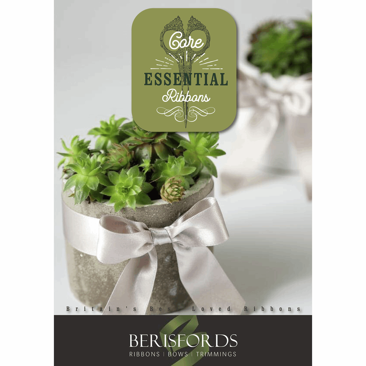 Picture of Berisfords: Core Essential Ribbons: Catalogue: 2021