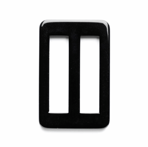 Picture of Fastening: Slide: Buckle: 40mm: Black: Pack of 1