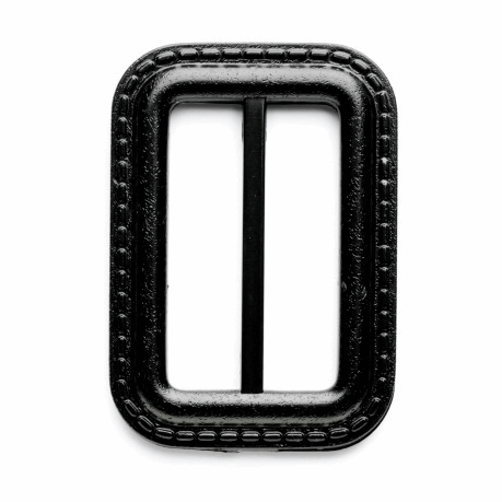 Picture of Fastening: Raincoat Slide Buckle: 40mm: Black: Pack of 1