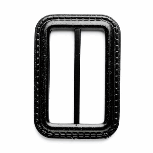 Picture of Fastening: Raincoat Slide Buckle: 50mm: Black: Pack of 1
