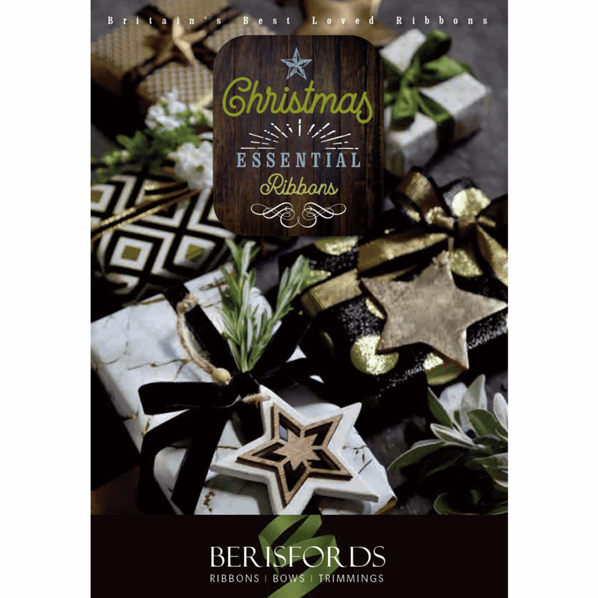 Picture of Berisfords Christmas Designs Catalogue 2019