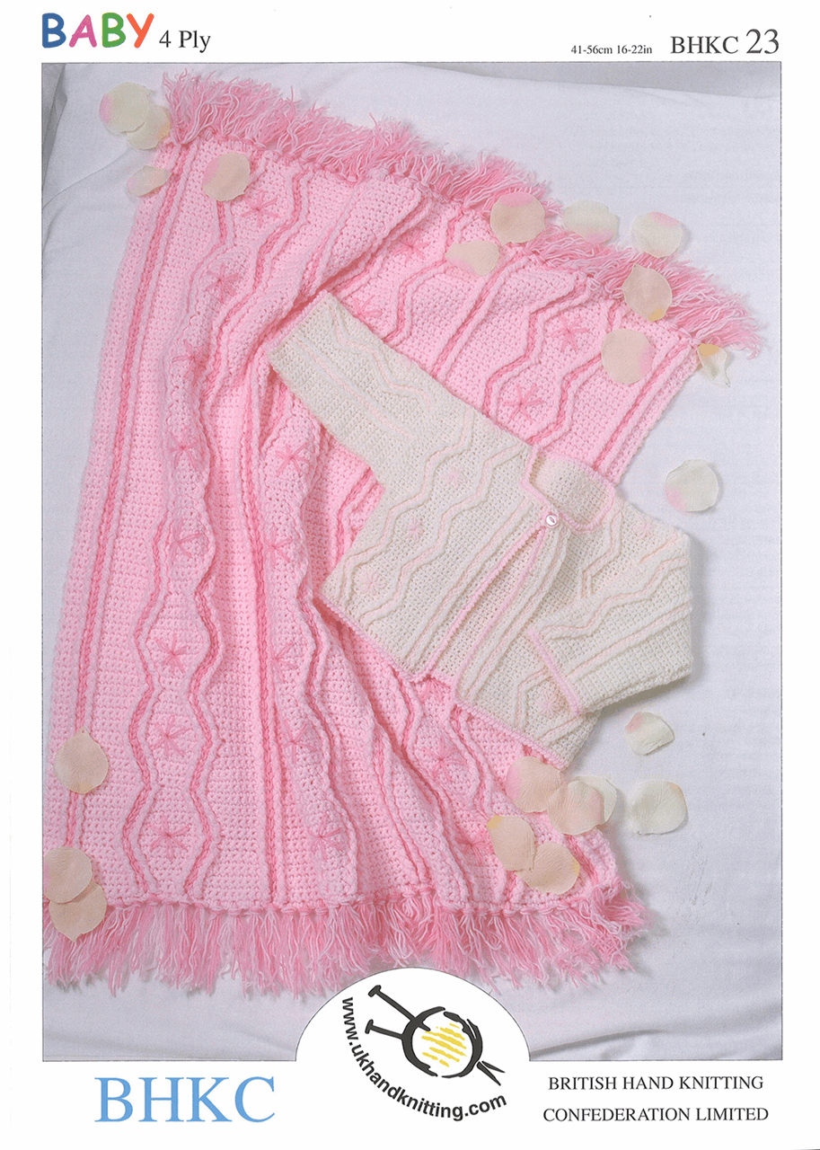 Picture of Pattern: Jacket and Pram Blanket