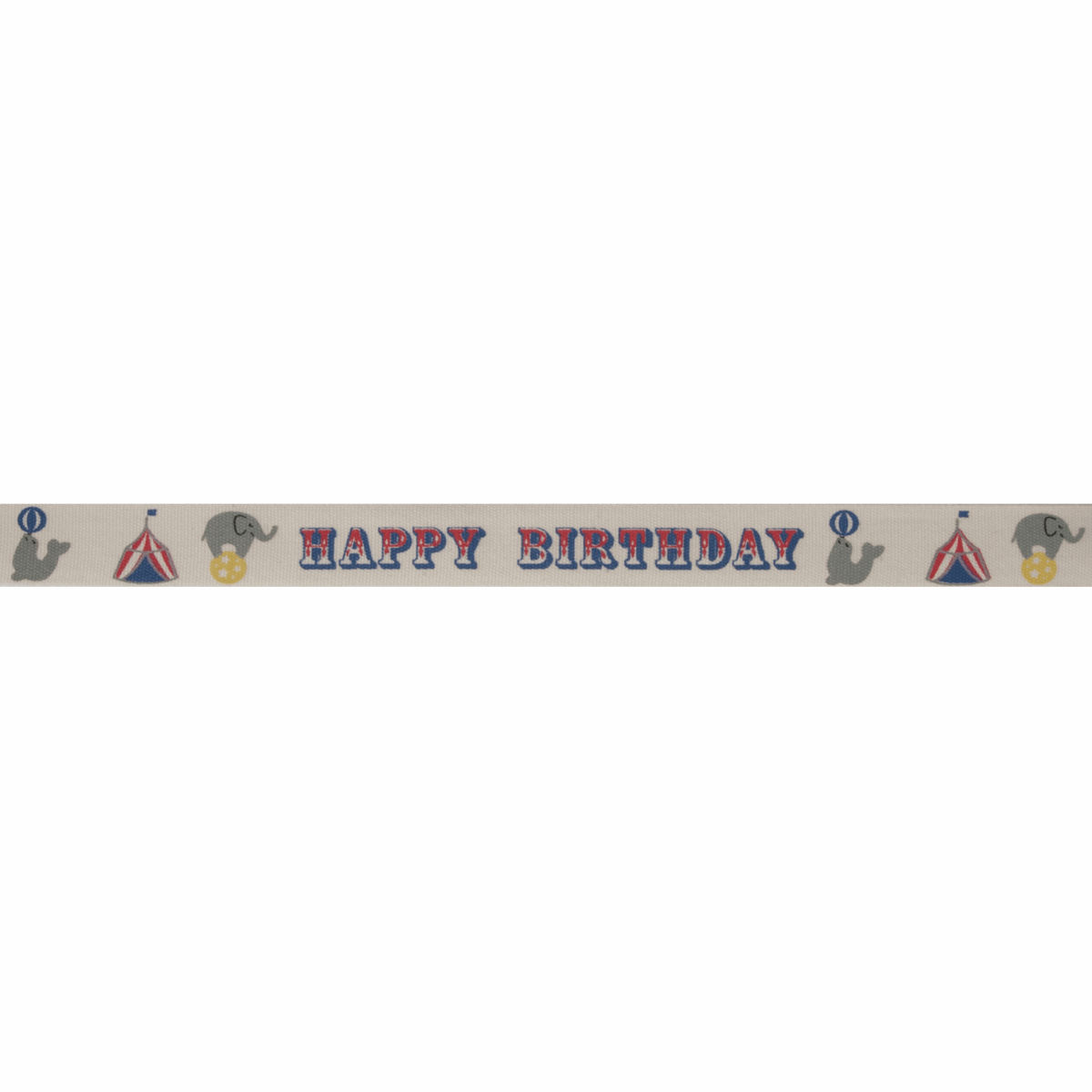 Picture of Natural: Happy Birthday Circus: Multi: 5m x 15mm