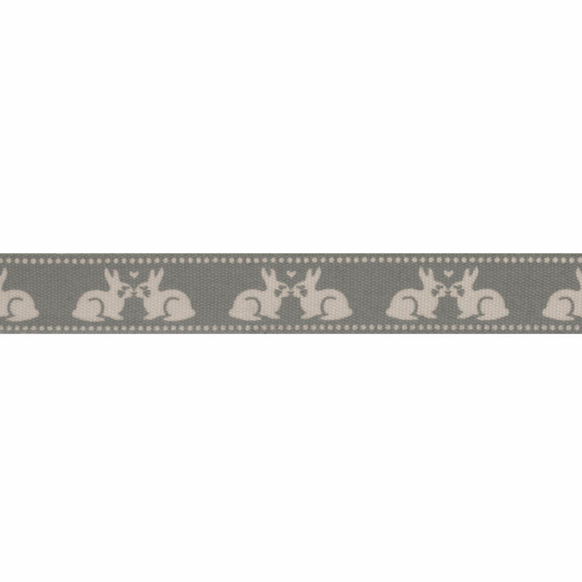 Picture of Natural: Kissing Bunnies: Brown: 5m x 15mm