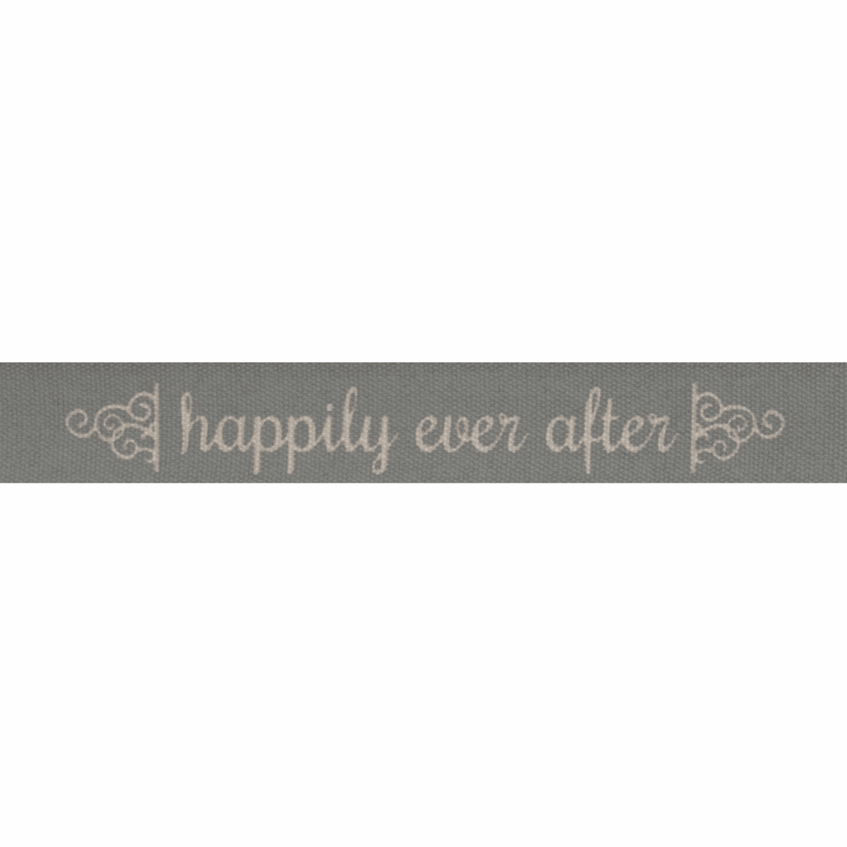 Picture of Natural: Happily Ever After: Grey: 5m x 15mm