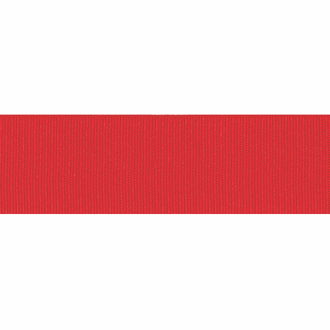 Picture of Grosgrain: 5m x 25mm: Red