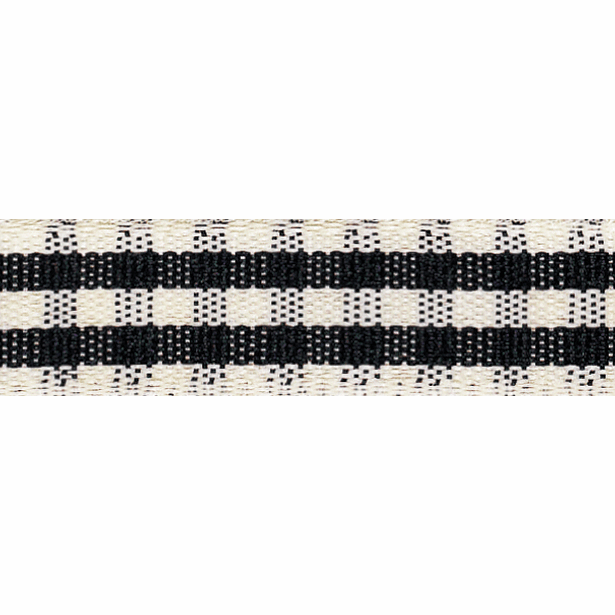 Picture of Rustic Gingham: 4m x 15mm: Black