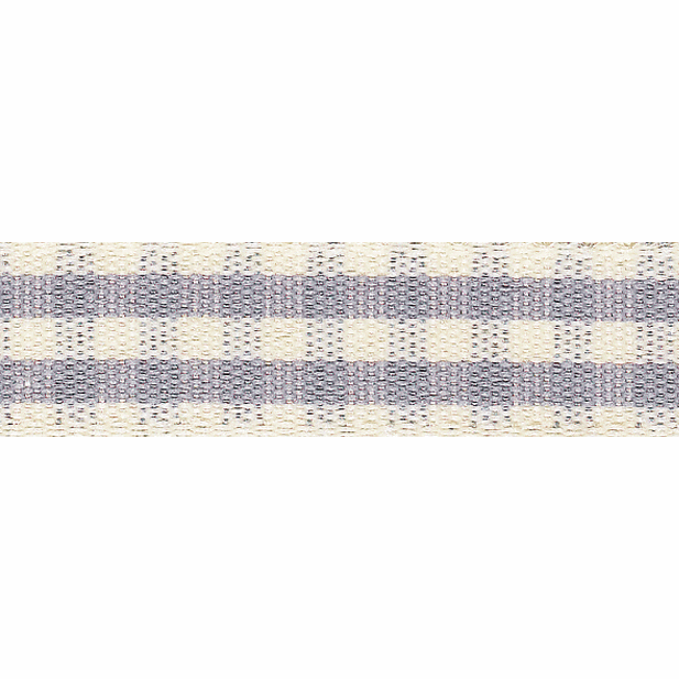 Picture of Rustic Gingham: 4m x 15mm: Grey