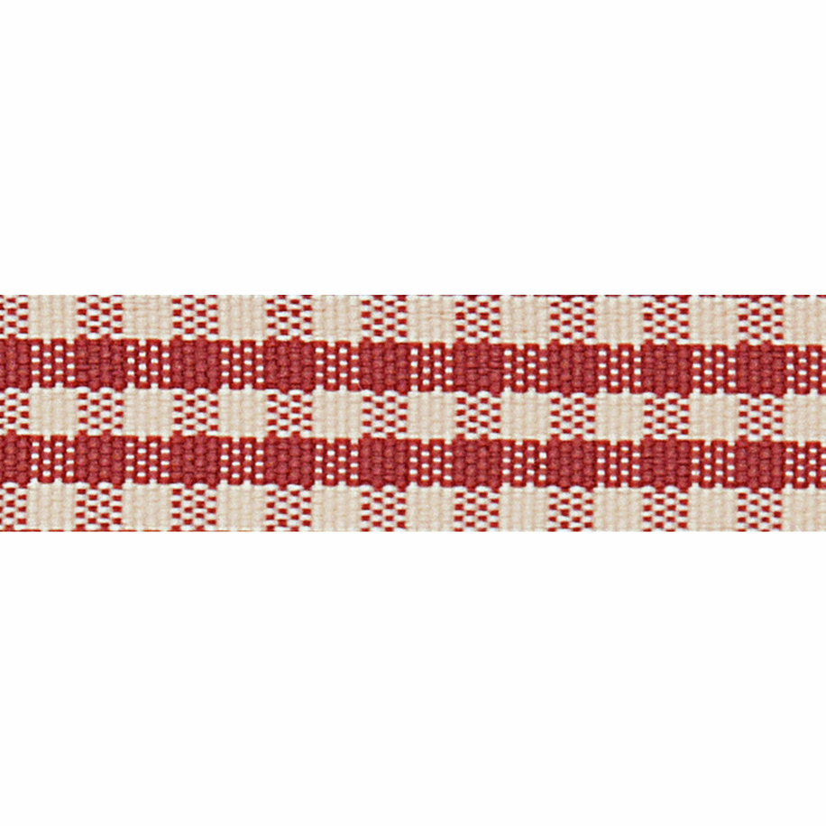 Picture of Rustic Gingham: 4m x 15mm: Dusky Pink