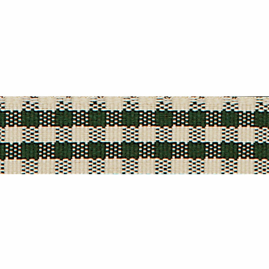 Picture of Rustic Gingham: 3m x 25mm: Cedar Green