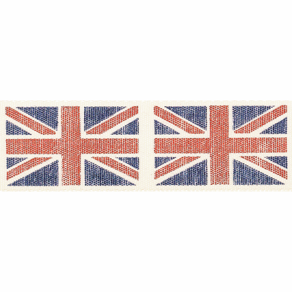 Picture of Vintage Flag: 3m x 25mm: Blue