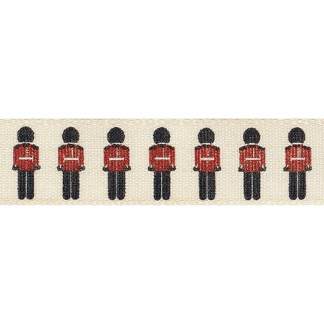 Picture of Soldiers: 4m x 15mm: Black/Red