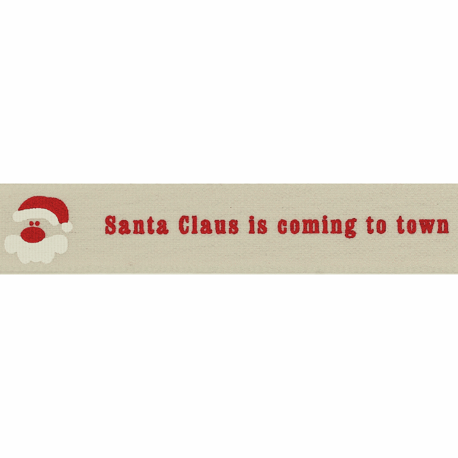 Picture of Santa Claus is Coming To Town: 4m x 15mm: Pumice