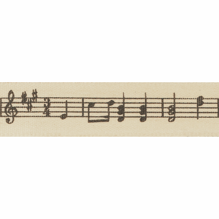 Picture of Musical Notes: 4m x 15mm: Natural